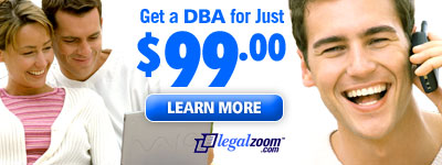 Get your DBAs Business Names from LegalSpring